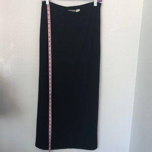 Liz Claiborne S Knit Maxi Black